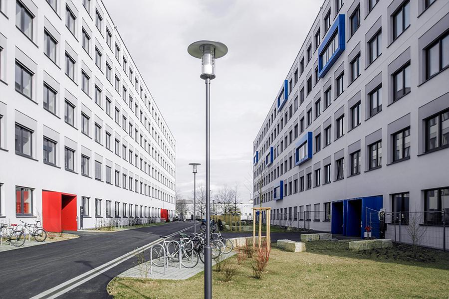 Campus Münchner Farbe Schulen